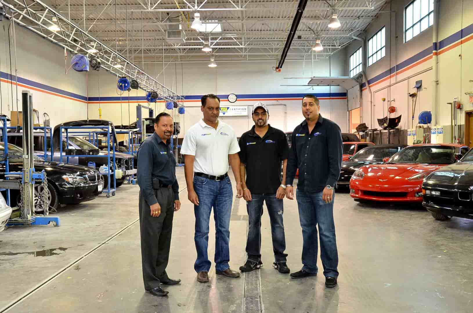 Trained and certified auto body specialist