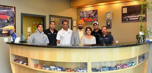 Auto Body Repair Team at Columbia Collision Repairs